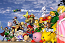 Enter the Super Smash Bros. melee with GameCube-inspired controllers