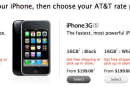 iPhone 3G missing a 'select' button on Apple Store, might not be long for this earth