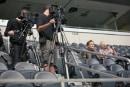 Watch Conan O'Brien play Street Fighter 2 on Dallas' huge stadium screen
