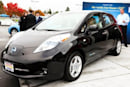 World's first Nissan Leaf delivered -- it's black, like the future of gas-powered cars