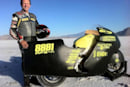 Lightning Motorcycles risks neck for an extra 10 MPH on the Flying Banana
