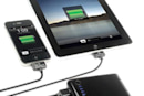 Scosche's goBAT II portable battery pack handles two USB devices at once, including your iPad