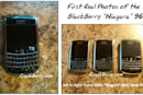 RIM's BlackBerry 9630 World Edition finally strikes a pose