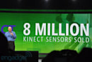 8 million Kinect sensors sold in first 60 days