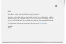 Beware of this Apple ID phishing scam