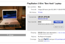 Ben Heck's PS3 Slim laptop pops up for sale on Ebay