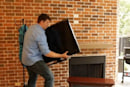 AT&T U-verse set-tops go wireless, free you to herniate yourself moving your HDTV around
