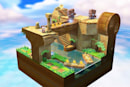 Captain Toad's base diorama concept initially starred Link