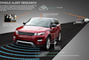 Future Range Rovers could tell the city about local potholes