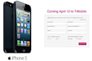 PSA: T-Mobile's iPhone 5 pre-orders start rolling today