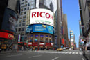 Ricoh erecting 47 x 126-foot solar and wind-powered billboard in Times Square