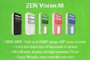 60GB Zen Vision:M shows up in magazine ad