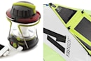 Goal Zero's Lighthouse250 Lantern, solar panel tent charge your gadgets alfresco