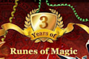 Runes of Magic on its third anniversary