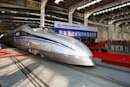 China launches high-speed test train capable of 310 mph, shaped like an ancient sword