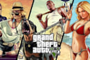 Elders wait for traffic, play Grand Theft Auto 5