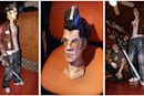 Life-size Travis Touchdown papercraft is unsettling and rad