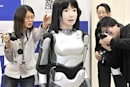 Japan's HRP-4C 'fashion model robot' unveiled, already harassed (update: video!)