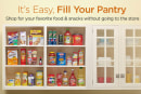 Amazon's Prime Pantry service lets you ship 45 pounds of groceries for a $6 fee