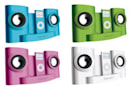Intempo's colorful IDS-01b iPod speaker dock