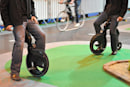 YikeBike foldable electric bicycle hands-on
