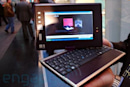 ASUS' T83 UMPC does the QWERTY swivel