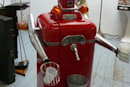 Chassis the beer pouring robot gets paint job, even more lovable