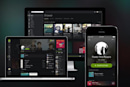 Spotify's new design is cleaner, darker and puts the focus on content