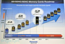 Panasonic SDXC cards roadmap and Lumix camera lineup at CES 2010