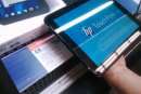 HP TouchPad veers into stores early, flaunts its webOS moves (video)