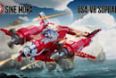 Build-em-up: make Sine Mora ships in Lego