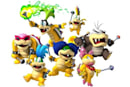 New, super character art from New Super Mario Bros. Wii
