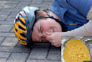 Fraunhofer developing bike helmets (and other products) that stink when damaged