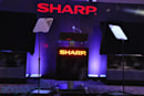 Live from Sharp's CES press event