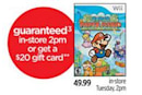 Circuit City guarantees Super Paper Mario, puts money where mouth is