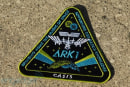 Visualized: Shepard Fairey's mission patch for CASIS ARK 1 (video)