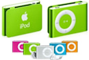 iPod shuffle -- now with color