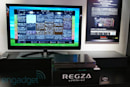 Toshiba Regza DBR-M190 stores 15 days of HDTV from six channels, we go hands-on (video)