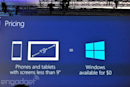 Windows will be free on phones, small tablets and the Internet of Things