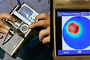 Portable medical scanners built to interface with cellphones