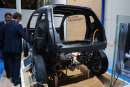 BMW i3 sheds its skin, shows off carbon skeleton