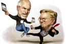 Apple vs. Google gets personal: 'Steve Jobs simply hates Eric Schmidt' (video)
