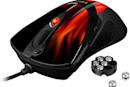Sharkoon Rush FireGlider gaming mouse comes with weights, flame job