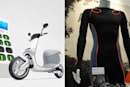 Electric scooters and fiber-optic shirts land on Engadget's CES stage