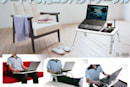 Hanwha SL-888 laptop cooling stand for casual, classy blogging