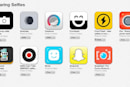 Apple adds a dedicated selfie section to its iOS App Store