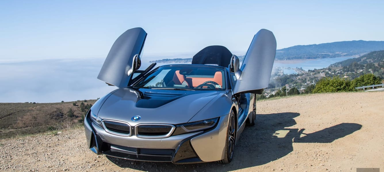 BMW's i8 Roadster is a daily driver in supercar's clothing