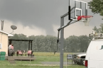 Tornado Spotted Near Ellettsville, Indiana