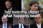 Tory leadership contest: What happens next?