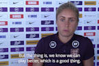 England captain Steph Houghton praises Lionesses 'unbelievable' defending